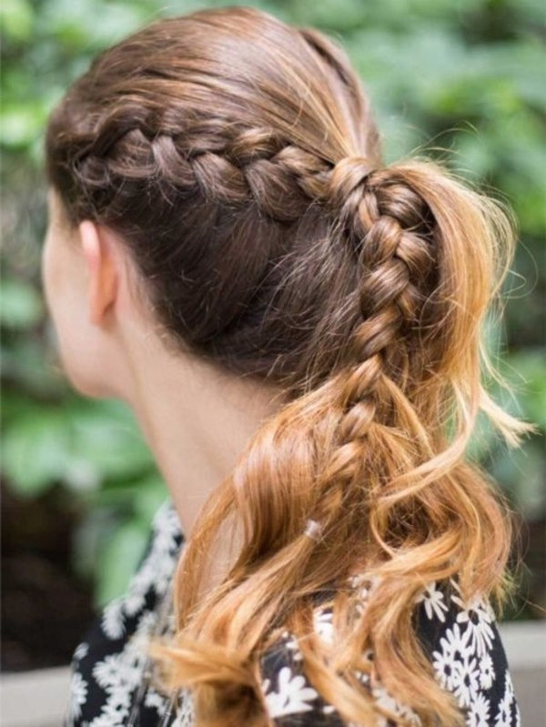 82 Of The Most Romantic And Inspiring Side Ponytails With Braided Side Ponytail Hairstyles (View 10 of 25)