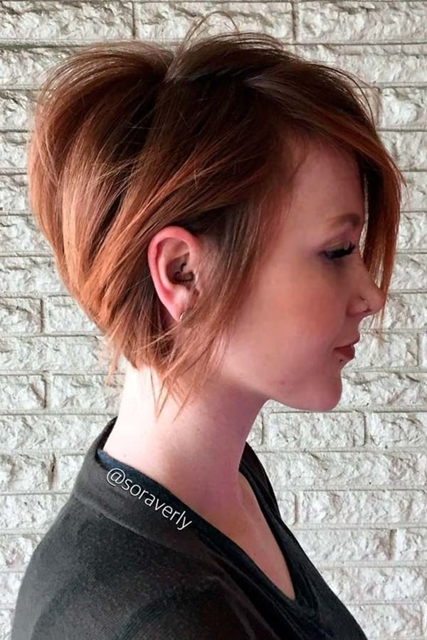 85 Stunning Pixie Style Bob's That Will Brighten Your Day For Best And Newest Reddish Brown Layered Pixie Bob Hairstyles (Gallery 22 of 25)