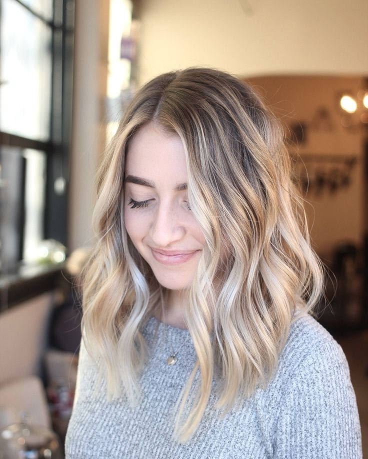 864 Best Hair. Images On Pinterest | Hair Cut, Hairdos And Ashy Blonde In Sun Kissed Blonde Hairstyles With Sweeping Layers (Gallery 7 of 25)