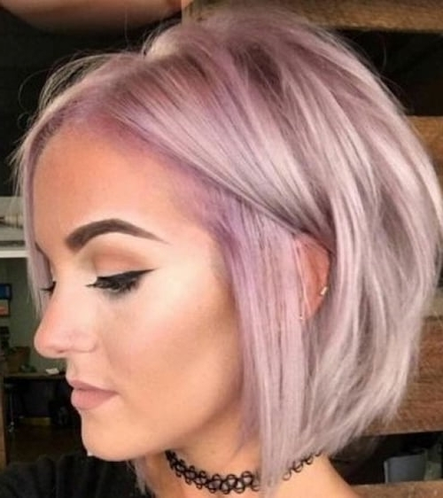 89 Of The Best Hairstyles For Fine Thin Hair For 2018 Inside Inverted Blonde Bob For Thin Hair (Gallery 11 of 25)