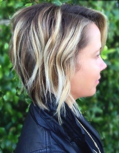 89 Of The Best Hairstyles For Fine Thin Hair For 2018 With 2018 Disconnected Blonde Balayage Pixie Hairstyles (Gallery 5 of 25)