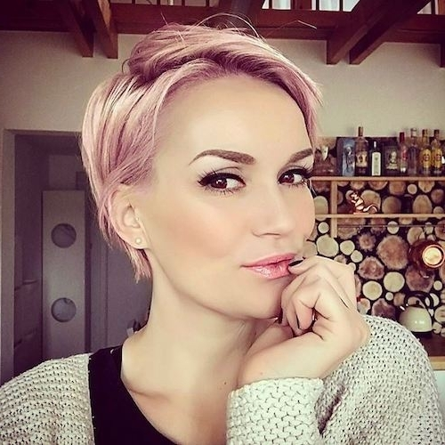 89 Of The Best Hairstyles For Fine Thin Hair For 2018 With Regard To Best And Newest Soft Pixie Bob Haircuts For Fine Hair (View 24 of 25)