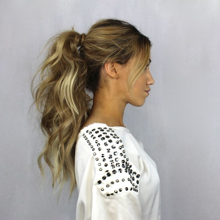 9 Best Pony Tail Hair Styles Images On Pinterest | Long Hair With Fabulous Formal Ponytail Hairstyles (View 4 of 25)