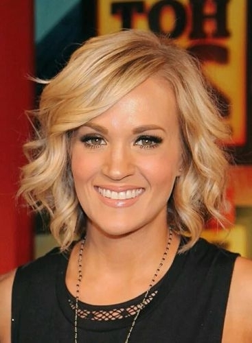9 Top Picks For Short Wavy Bob With Bangs (Haircuts & Hairstyles) Within Blonde Bob With Side Bangs (View 24 of 25)