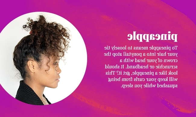 9 Ways To Sleep With Curls | Naturallycurly With Regard To Night Time Curls Hairstyles (View 20 of 25)