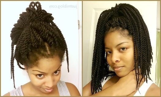 A Few Quick Tips For Crochet Braid Maintenance | Just Mi! In Cornrows And Senegalese Twists Ponytail Hairstyles (Gallery 19 of 25)