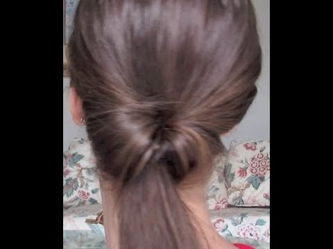 A Twist In The Pony  New Way To Do The Do! Twisted Ponytail Hair With Regard To Twisted Pony Hairstyles (Gallery 3 of 25)