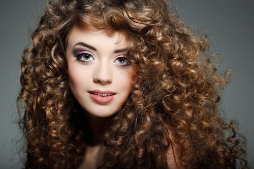 Add Some Spring To Your Hair With These Curly Hairstyles | Pinterest With Regard To Lush And Curly Blonde Hairstyles (Gallery 7 of 25)