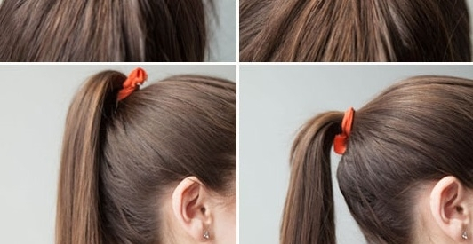 Add Volume To Your Ponytail | Makeup Mania Pertaining To Chic Ponytail Hairstyles With Added Volume (View 24 of 25)