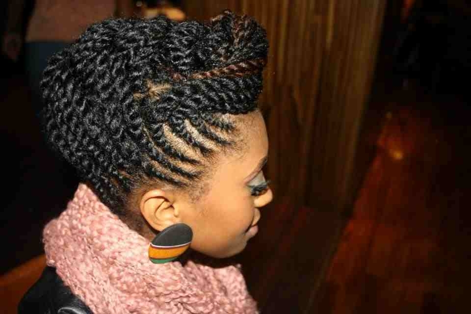 African Dazzle Magazine Black Hair Ponytail Hairstyles | Medium Hair Pertaining To Pony Hairstyles For Natural Hair (Gallery 18 of 25)