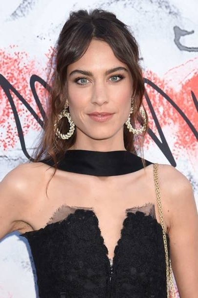 Alexa Chung Hair And Hairstyles Inspiration – Photos   British Vogue With Regard To Formal Side Pony Hairstyles For Brunettes (Gallery 23 of 25)