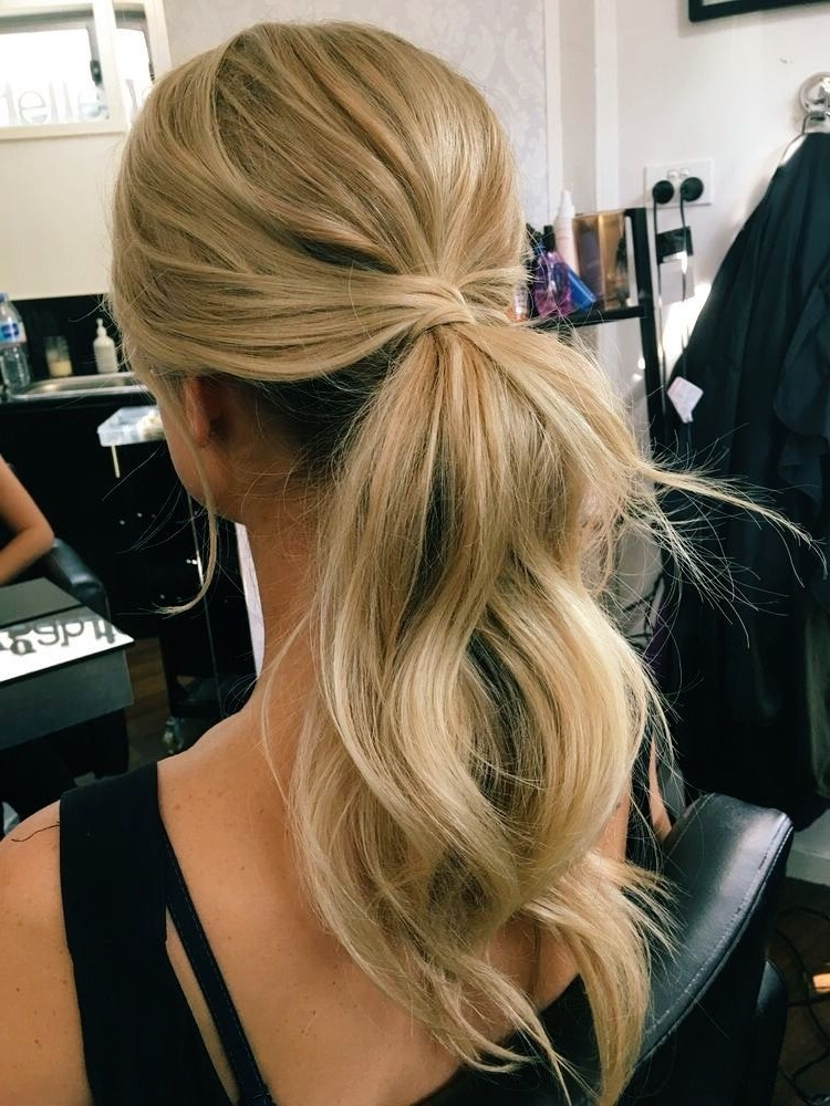 Featured Photo of Fabulous Formal Ponytail Hairstyles