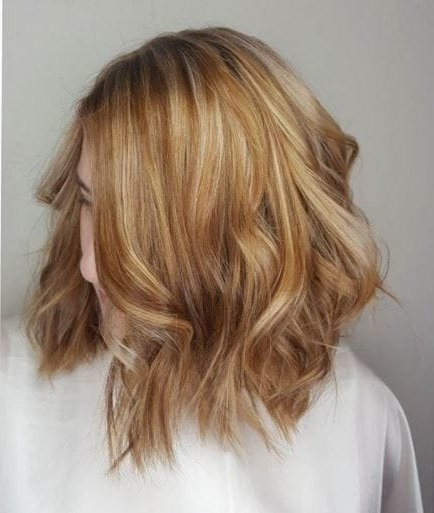 All The Copper Highlights Hair Inspiration You Will Need Regarding Contrasting Highlights Blonde Hairstyles (Gallery 13 of 25)