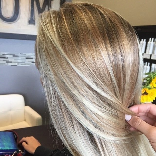 "Allysha Watkins On Instagram: ""Dimensional Beachh Sunkissed Blonde With Regard To Sun Kissed Blonde Hairstyles With Sweeping Layers (Gallery 12 of 25)"