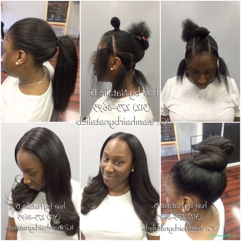 Amazing Black Hair Weave Ponytail Hairstyles – Hairstyles Ideas Throughout Weave Ponytail Hairstyles (Gallery 21 of 25)