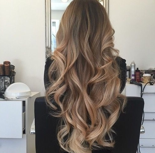 Ash Blonde Brown Balayage Ombre Hair | Inspo ; Hair Color With Soft Flaxen Blonde Curls Hairstyles (Gallery 2 of 25)