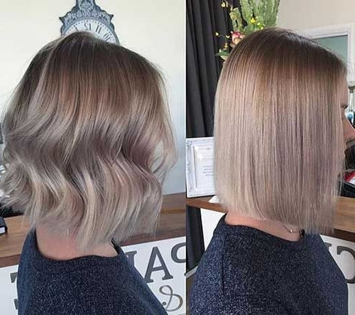 Ash Blonde Colored Bob Pics You Should See In 2018 | Latest With Super Straight Ash Blonde Bob Hairstyles (Gallery 1 of 25)