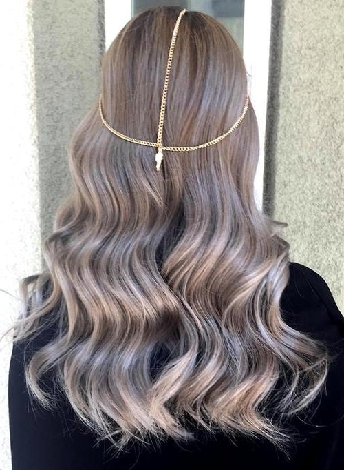 Ash Blonde Hair Looks You'll Swoon Over Throughout Ash Blonde Lob With Subtle Waves (View 22 of 25)