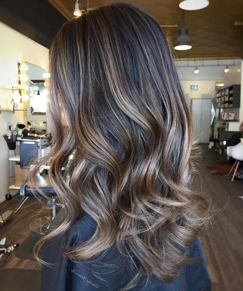 Ash Blonde Hair Looks You'll Swoon Over Throughout Ash Blonde Lob With Subtle Waves (View 7 of 25)