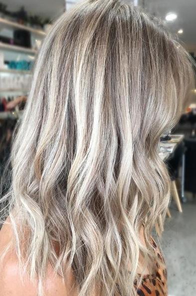 Ash Blonde – Mane Interest Regarding Feathered Ash Blonde Hairstyles (View 20 of 25)