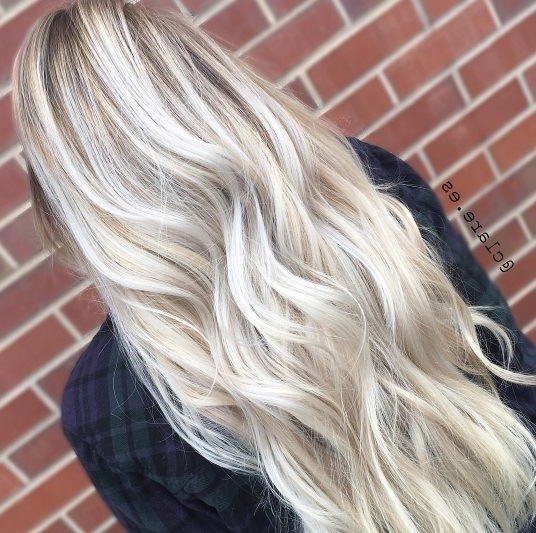 Ash Blonde Ombre: 8 Flawless Looks To Inspire Your Next Salon Visit In Creamy Blonde Fade Hairstyles (View 7 of 25)