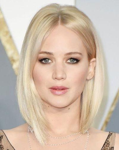 Asymmetrical Bleached Blonde Bob Haircut For Fine Hair   Hairstyles For Straight Blonde Bob Hairstyles For Thin Hair (View 3 of 25)