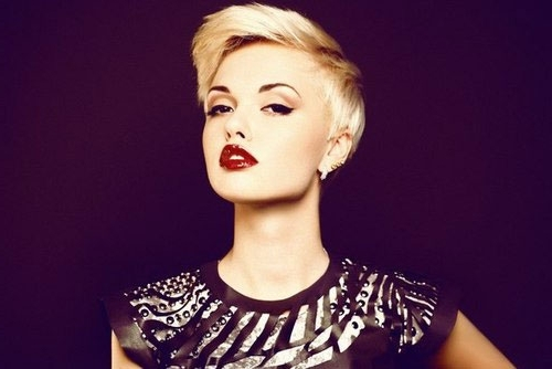 Asymmetrical Haircuts For Round Faces | Short Hairstyles 2017 – 2018 With Best And Newest Asymmetrical Long Pixie Hairstyles For Round Faces (Gallery 13 of 25)