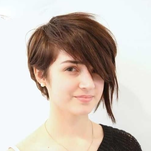 Asymmetrical Pixie Cut For Round Face | Cute Hair | Pinterest In Current Asymmetrical Long Pixie Hairstyles For Round Faces (View 4 of 25)
