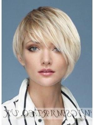 Asymmetrical Short Platinum Blonde Wig | Wigs | Pinterest | Blonde Throughout Platinum Asymmetrical Blonde Hairstyles (Gallery 13 of 25)