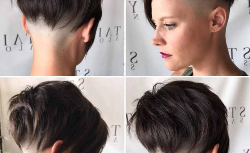 Asymmetrical Undercut Hairstyles For Women | Beauty Within Clinic Pertaining To Most Recent Pixie Bob Hairstyles With Temple Undercut (Gallery 21 of 25)