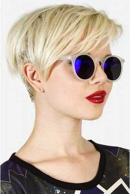 Awesome 20 Modern Short Haircuts // #haircuts #modern #short In Current Contemporary Pixie Hairstyles (Gallery 1 of 25)