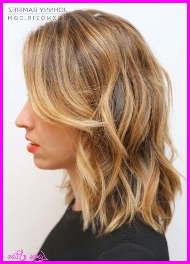 Awesome Medium Length Dirty Blonde Haircuts | Hair | Pinterest For No Fuss Dirty Blonde Hairstyles (View 6 of 25)