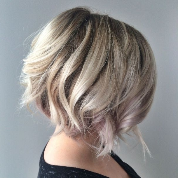 Back Hair Tutorials In Conjunction With Blonde Textured Bob With Intended For Textured Platinum Blonde Bob Hairstyles (View 15 of 25)
