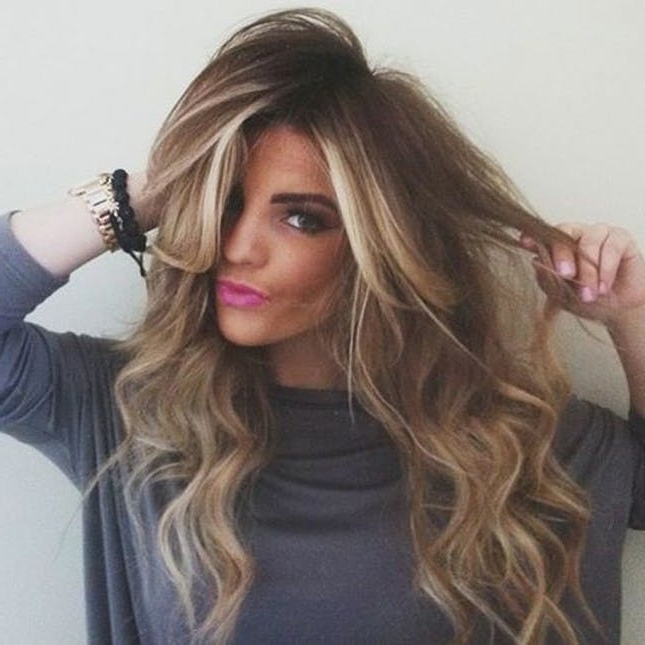 Balayage Hair Color Ideas | Brit + Co In Dishwater Blonde Hairstyles With Face Frame (View 8 of 25)