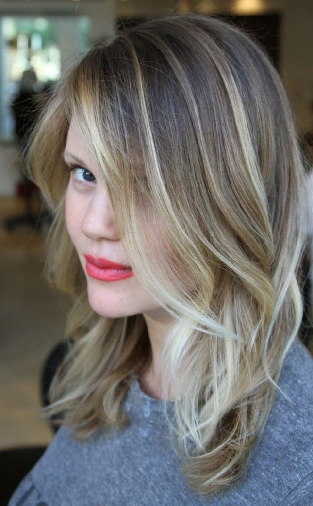 Balayage Hair Color Ideas | Brit + Co Regarding Dishwater Blonde Hairstyles With Face Frame (View 4 of 25)