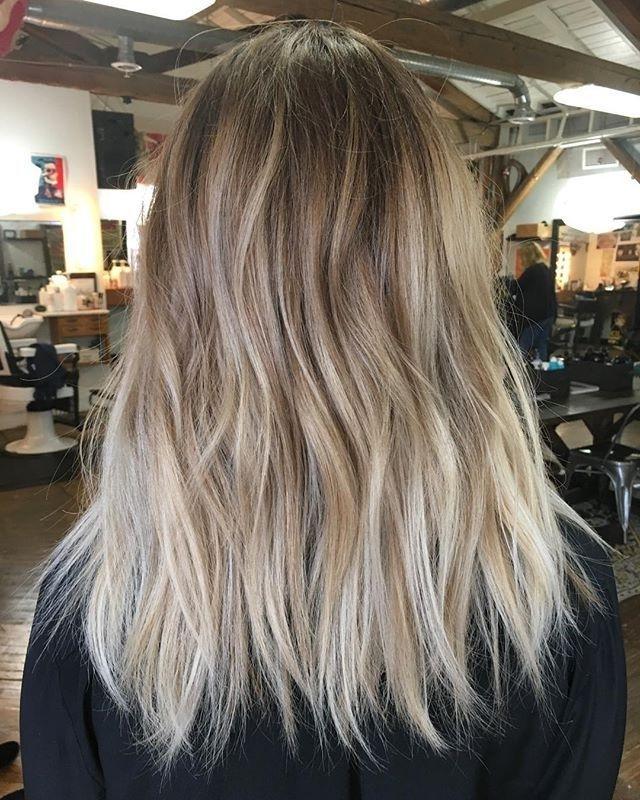 Balayage   Hair   Pinterest   Balayage, Hair Coloring And Hair Makeup Regarding Grown Out Balayage Blonde Hairstyles (View 5 of 25)