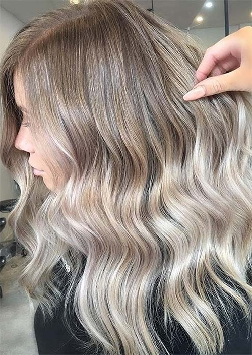 Balayage Hair Trend: 51 Balayage Hair Colors & Highlights – Glowsly For Classic Blonde Balayage Hairstyles (View 18 of 25)