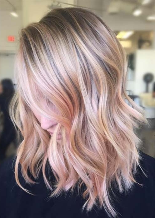 Balayage Hair Trend: 51 Balayage Hair Colors & Highlights – Glowsly Throughout Golden Blonde Balayage Hairstyles (View 23 of 25)