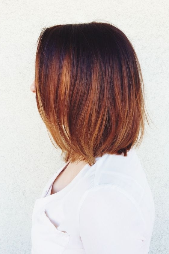 Balayage Hairstyles For Short Length Hair Regarding Recent Feathered Pixie With Balayage Highlights (View 20 of 25)