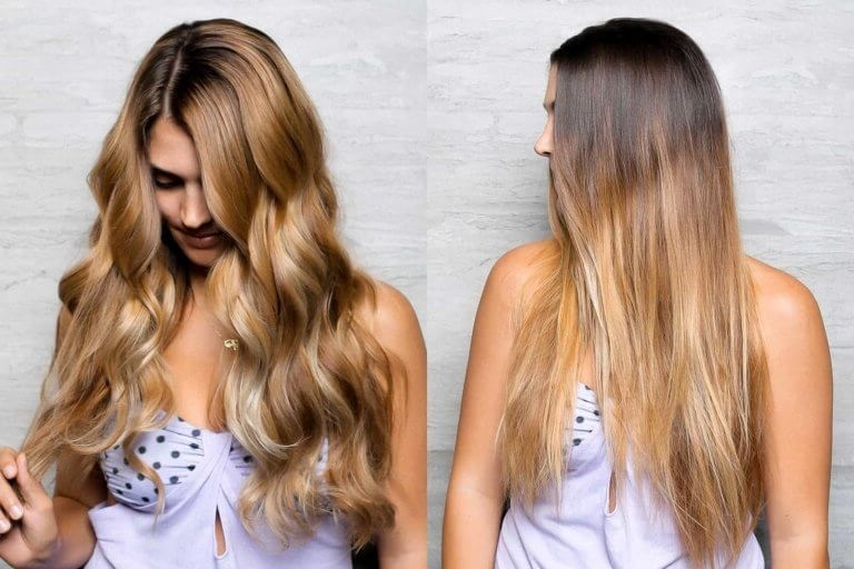 Balayage Las Vegas • Cost & Examples • The Hair Standard With Grown Out Balayage Blonde Hairstyles (View 11 of 25)