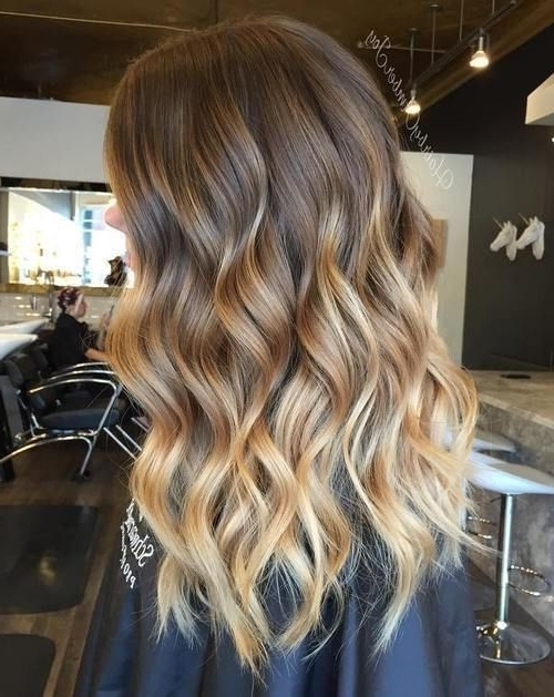 Balayage Ombre Blonde Brown Hair With Caramel Blonde Balayage With Caramel Blonde Hairstyles (View 9 of 25)