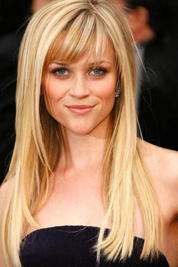 Bangs Hairstyles 16 | Classic Casual | Pinterest | Bang Hairstyles In Casual And Classic Blonde Hairstyles (View 10 of 25)