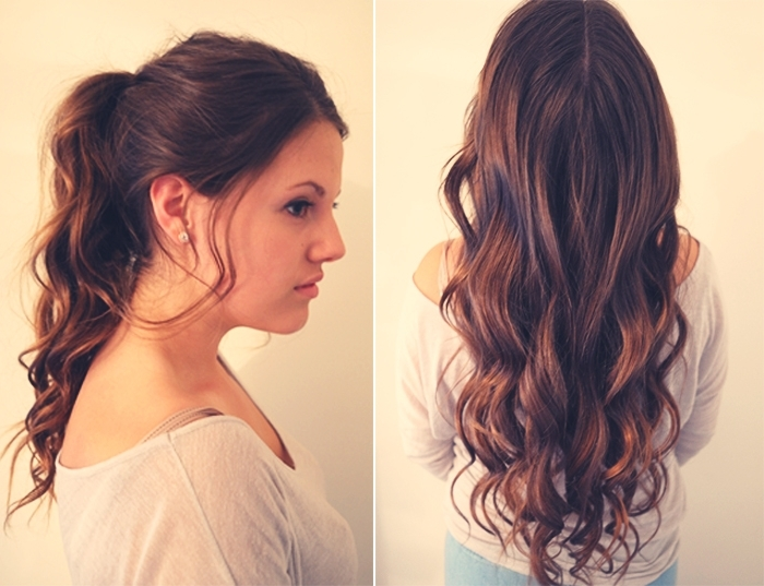 Beach Beauty: Hairstyles For Summer – Katherine Schwarzenegger Regarding Messy Waves Ponytail Hairstyles (View 8 of 25)