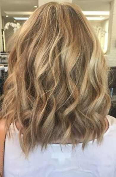 Beach Waves And Sandy Blonde – Jonathan & George With Regard To Bronde Beach Waves Blonde Hairstyles (View 6 of 25)