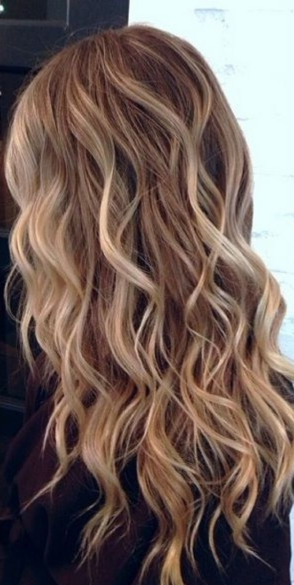 Beach Waves Hair You Need To Check – All For Fashions – Fashion Inside Beachy Waves Hairstyles With Blonde Highlights (View 9 of 25)
