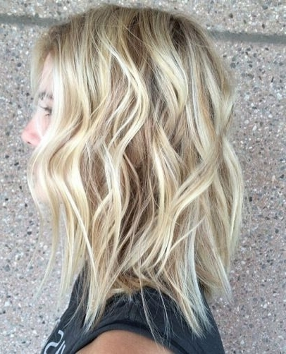 Beachy Blonde Highlights And Hairstyles | Coleur | Pinterest With Regard To Beachy Waves Hairstyles With Blonde Highlights (View 3 of 25)