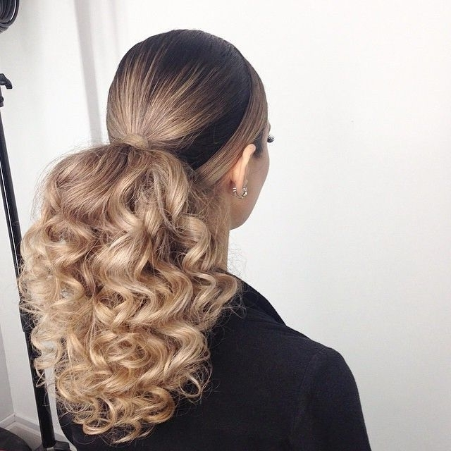 Beautiful Beyonce Human Hair Ponytail Extensions Clip In High Curly Throughout Botticelli Ponytail Hairstyles (View 3 of 25)