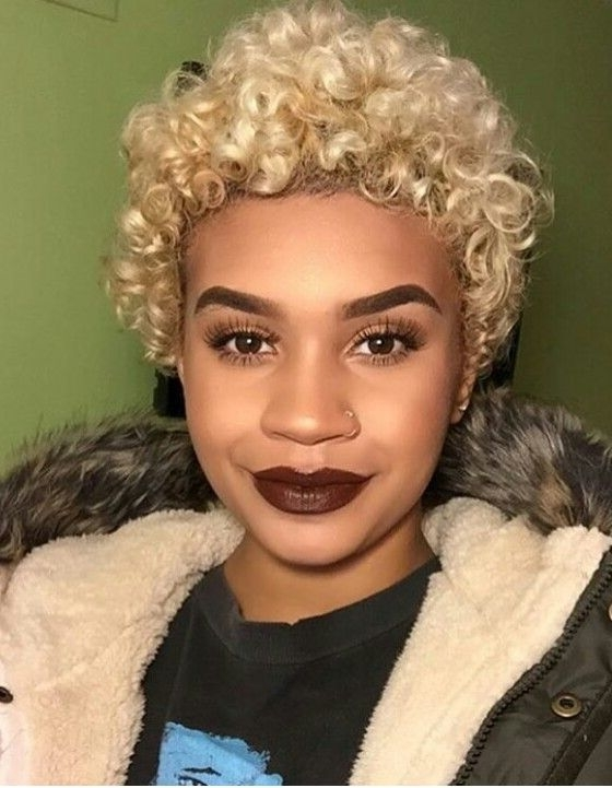 Beautiful Blonde Curls | Teeny Weeny Afro Inspo | Pinterest | Blonde With White Blonde Curls Hairstyles (View 18 of 25)