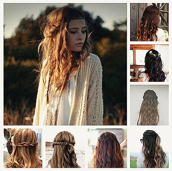 Beautiful Braid Hairstyles For Short Curly Hair Curly Hairstyles Intended For Wavy And Braided Hairstyles (View 15 of 25)