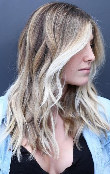 Beautiful Face Framing Blonde Highlights | Hair Color | Pinterest Within Choppy Cut Blonde Hairstyles With Bright Frame (View 19 of 25)